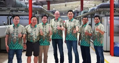 Indonesian textile factory buys the 6th  BRÜCKNER stenter