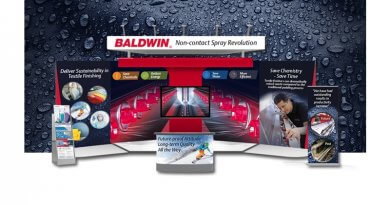 Baldwin's finishing systems at virtual textile events