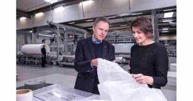 World's First Nonwoven Made With Certified Circular Polypropylene